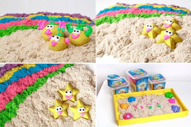 Игрушки в песок своими руками