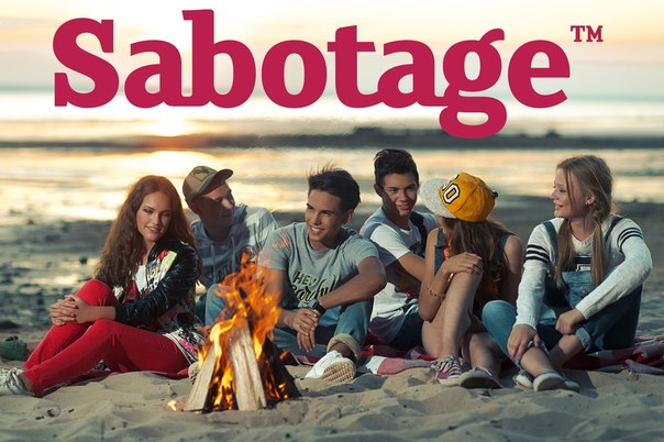Одежда Sabotage